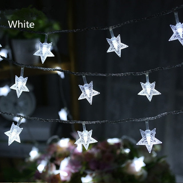 Snowflake String Lights LED Christmas Decoration