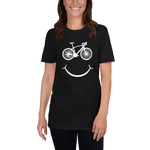Bicycle Smiley Unisex Tee
