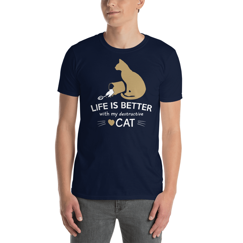 My Desctructive Cat Unisex Tee