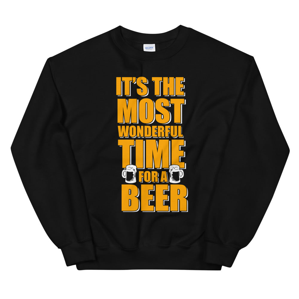 Beer Time Unisex Sweatshirt