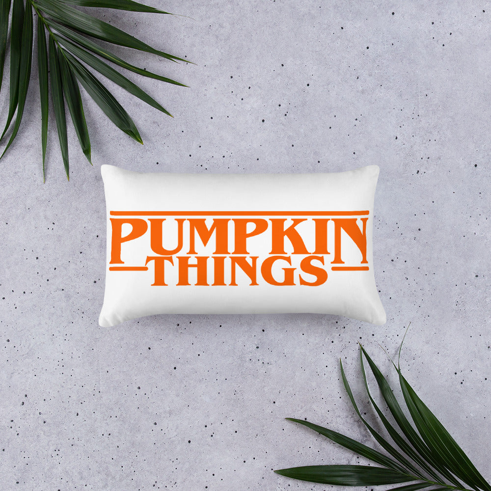 Pumpkin Things Premium Pillow