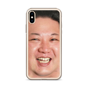 Smiling Kim iPhone Case