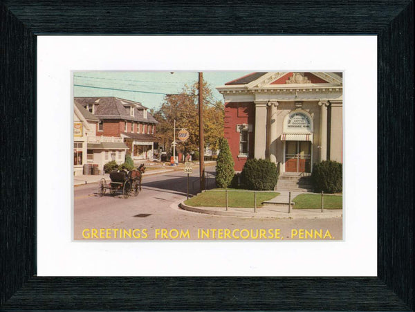 Vintage Postcard Front - Greetings from Intercourse Pennsylvania