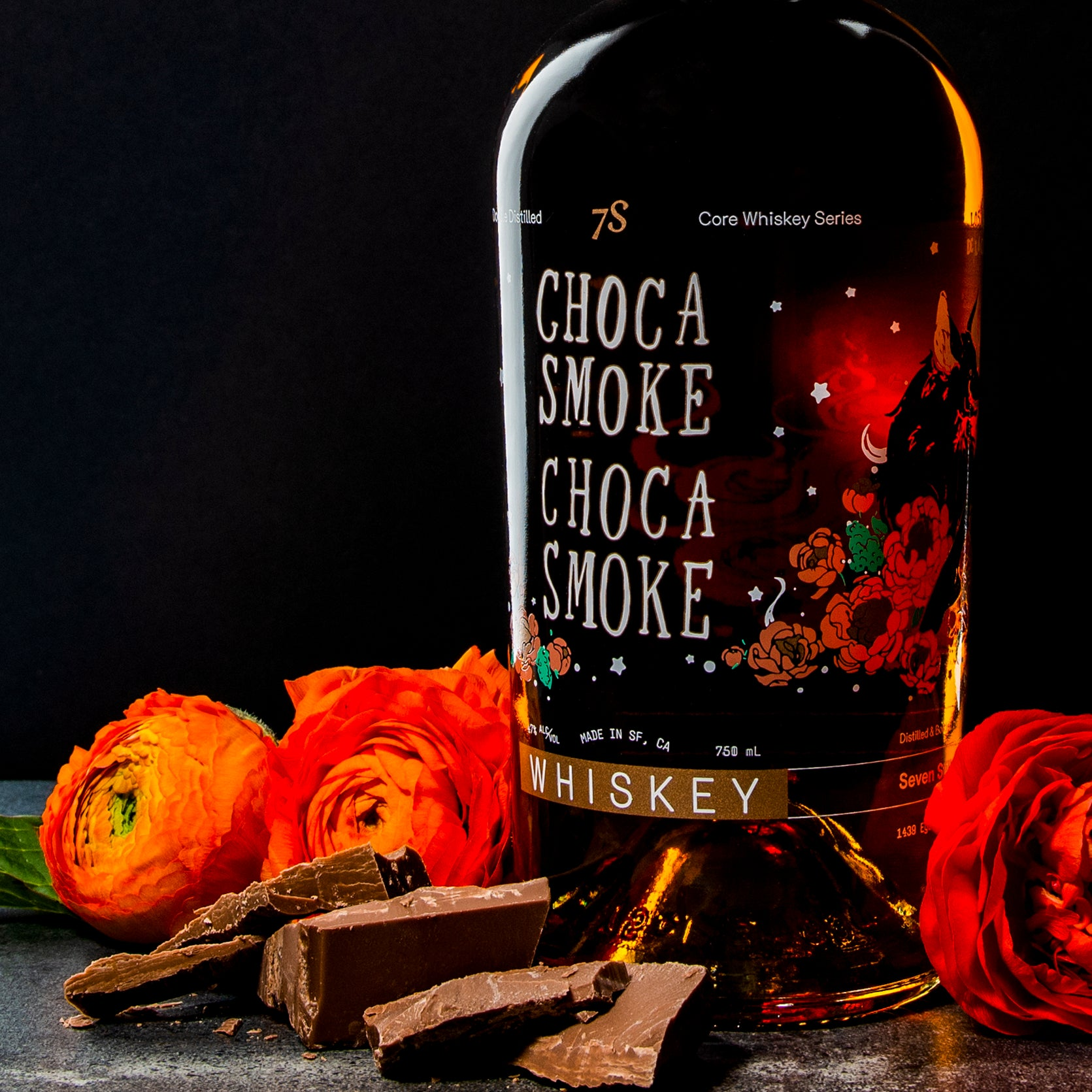 Chocasmoke | 750ml - Chocolate Oatmeal Stout - Seven Stills Brewery & Distillery