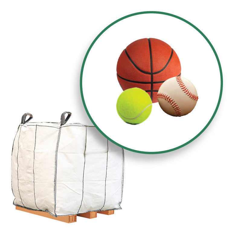 Athletic Balls - Zero Waste Pallet