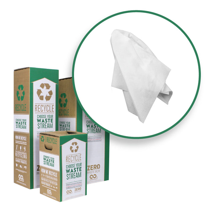 Synthetic Disinfectant Wipes - Zero Waste Box™
