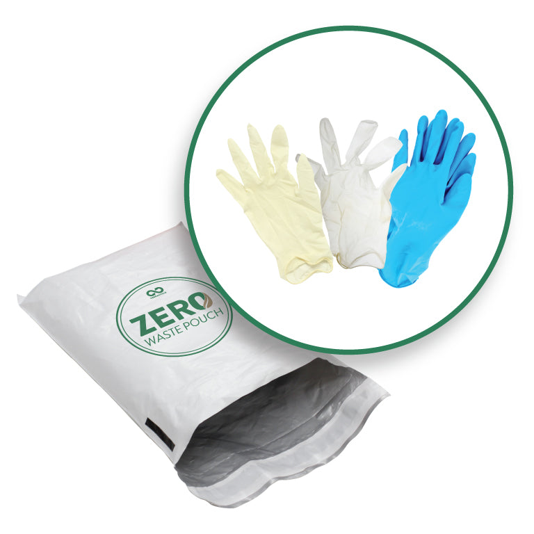 Disposable Gloves - Zero Waste Pouch