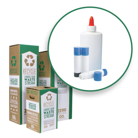 Glue Sticks and Bottles - Zero Waste Box™