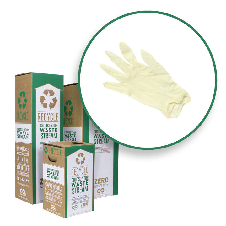Latex Gloves - Zero Waste Box™