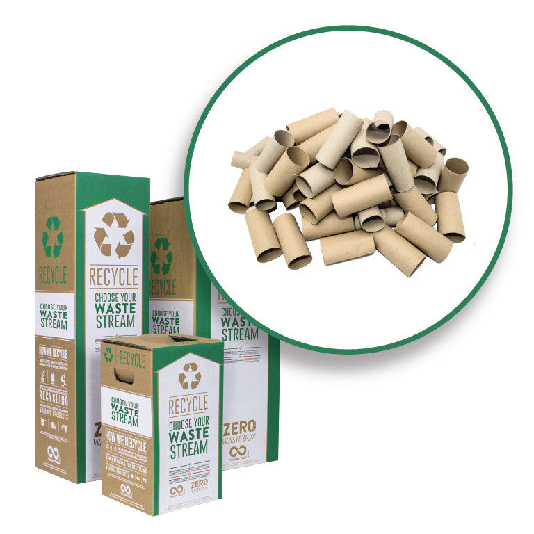 Paper Tissue and Towel Rolls - Zero Waste Box™