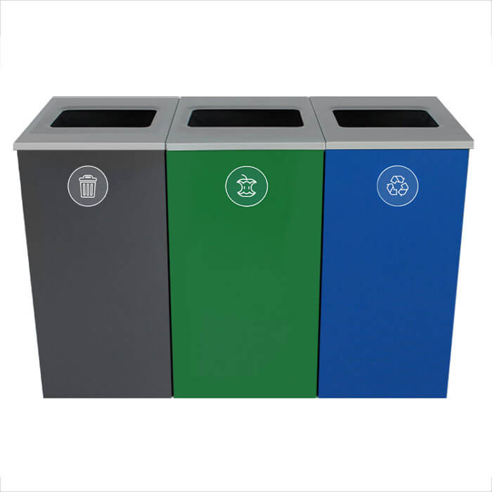 Spectrum Three-Stream Triple Cube Recycling Station.