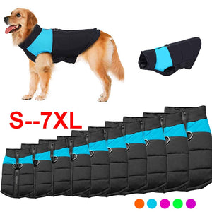Winter Pet Dog Clothes Warm Thicken Waterproof Dogs Jacket