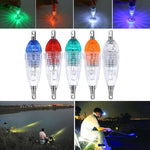 Load image into Gallery viewer, LED Flashing Mini Deep Drop Underwater Lights Fishing Squid Fish Lure