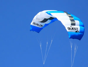 Details for Blue Quest Dual Line Traction Kite