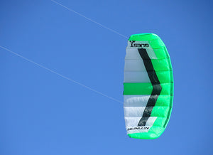 Flying Green Quest Dual Line Traction Kite