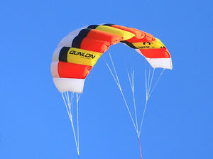 Red Basic Dual Line Traction Kite