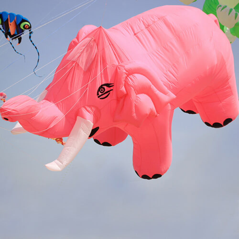 15ft Elephant Inflatable Line Laundry soft Kite