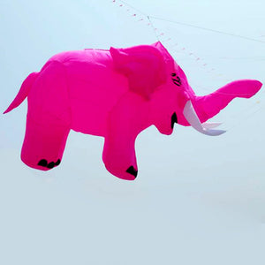 Pink 15ft Elephant Inflatable Line Laundry