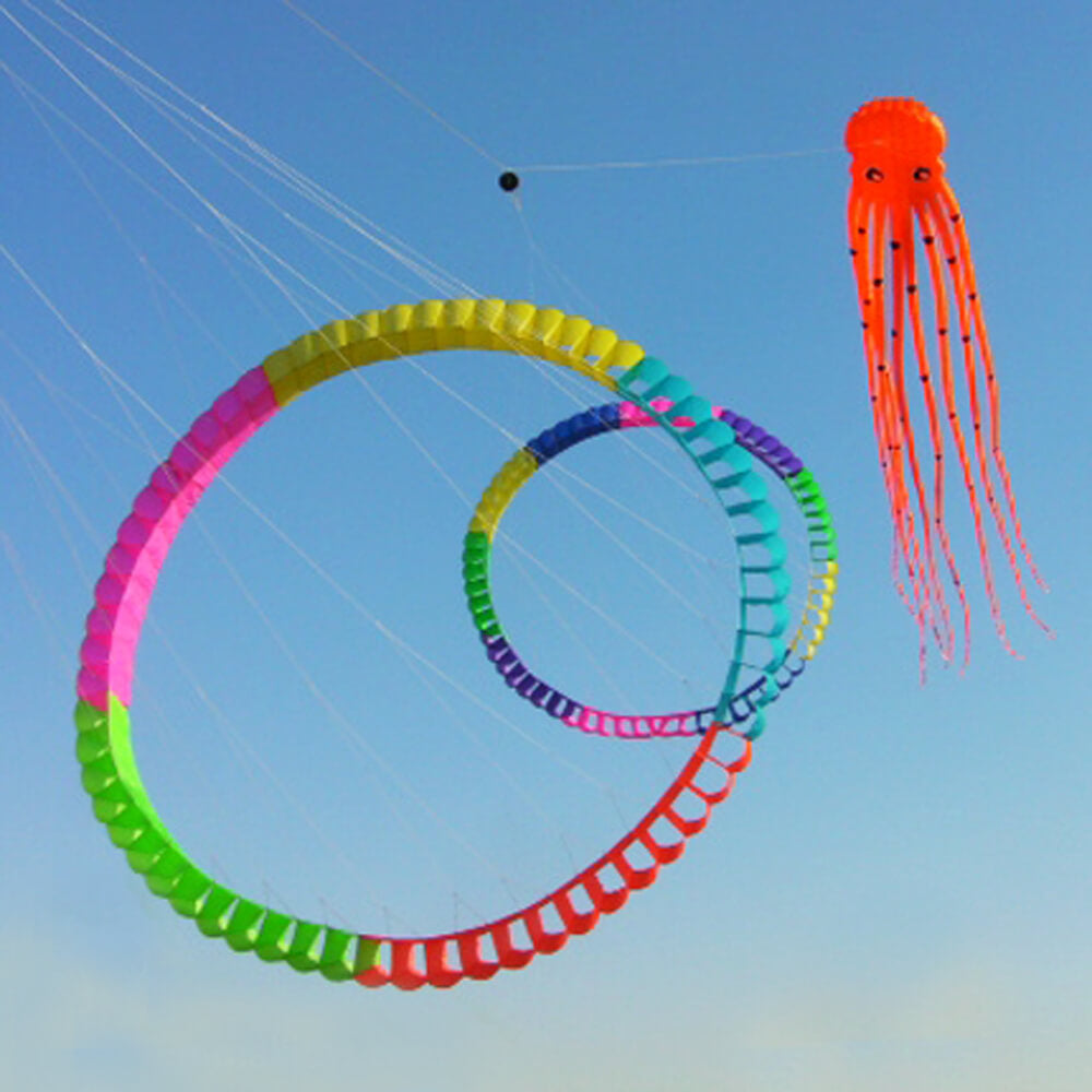 3D 49ft Octopus Kite with Waving Tentacles