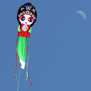 7ft Pretty Opera Actress Soft Single Line Kite