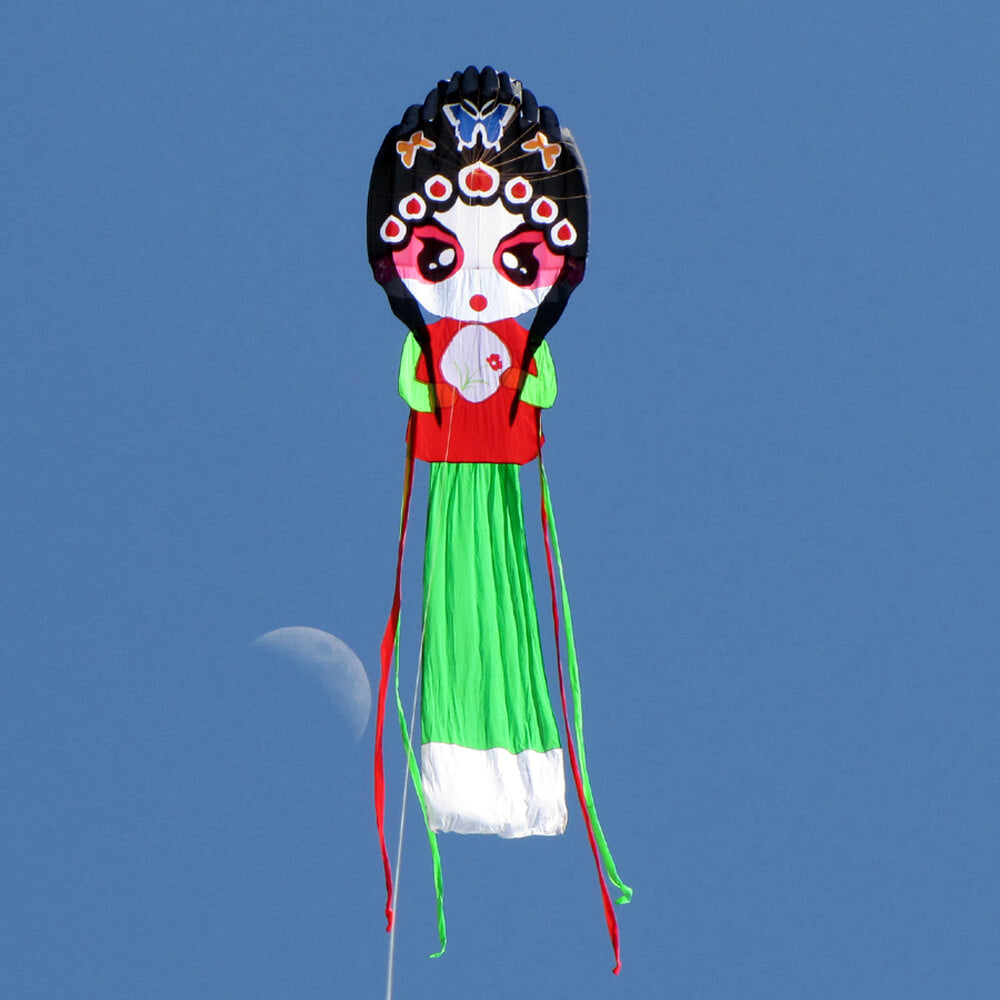 7ft Pretty Opera Actress Single Line Kite