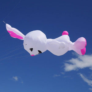 15ft Magic Rabbit Inflatable Line Laundry Cute Kite