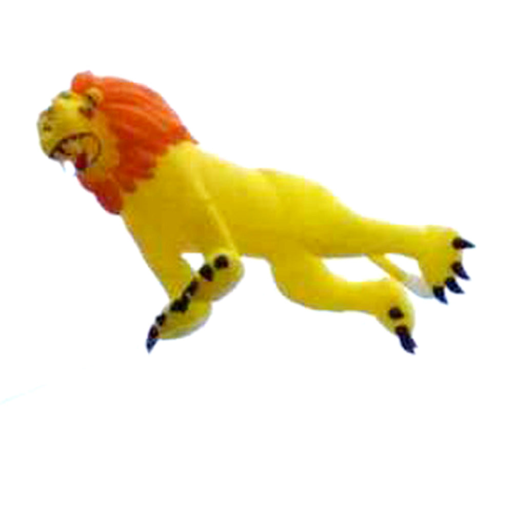 16ft Yellow Lion Inflatable Line Laundry Soft Kite