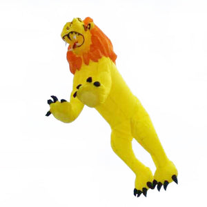 16ft Yellow Lion Inflatable Line Laundry Cute Kite