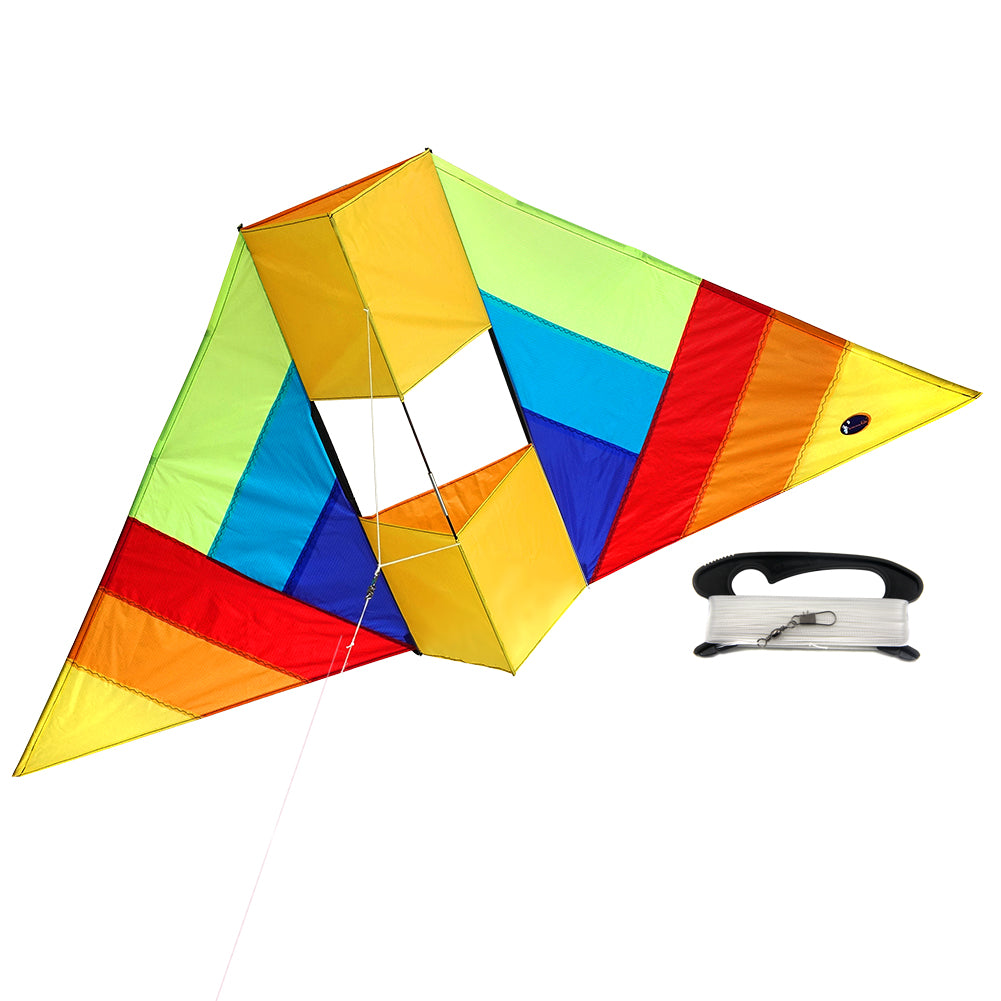 Conyne Delta Kite 60 Inch RTF Kit With Kite Line