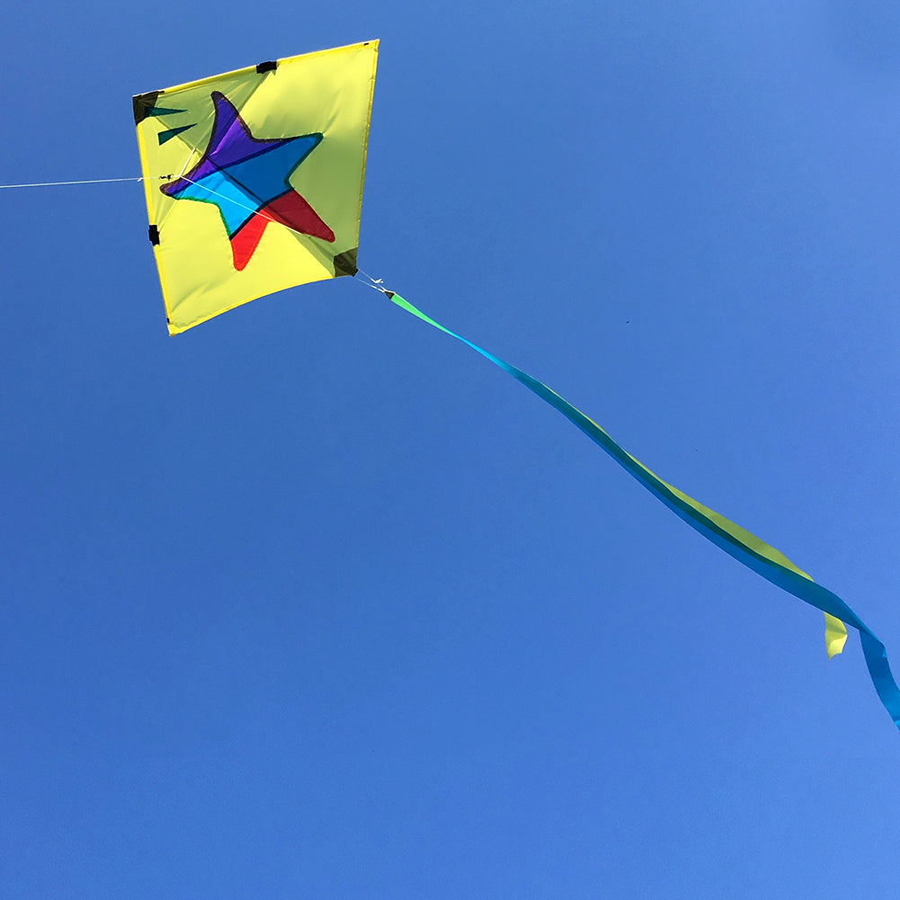 Little Star Diamond Kite Flying