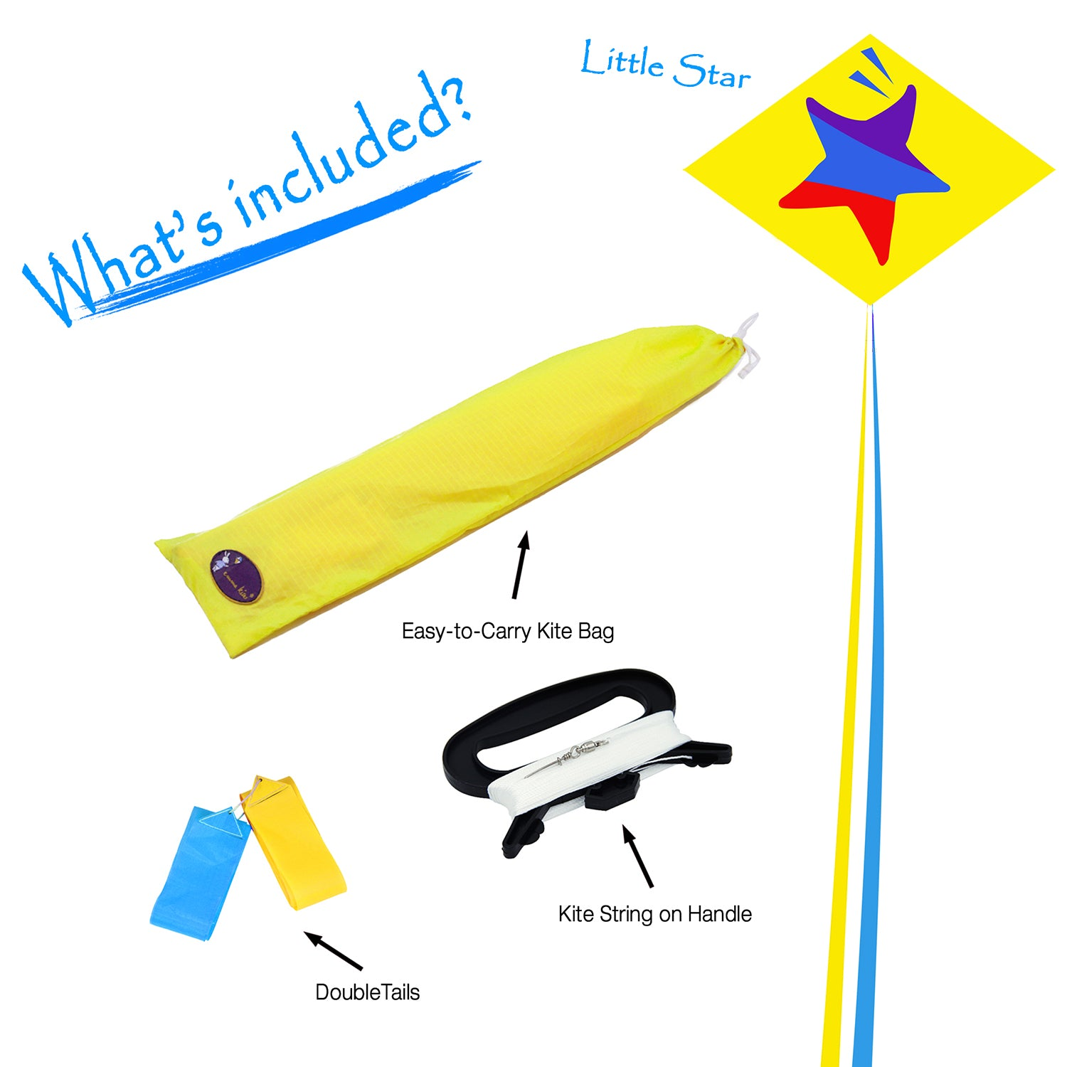 Little Star Diamond Kite 30 Inch RTF Kit