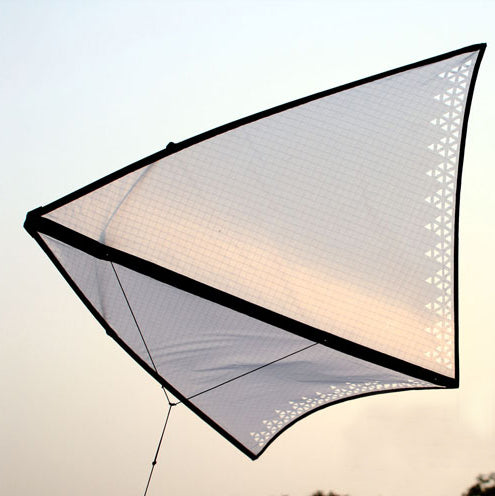 Zero Wind Circling Delta Kite Flying