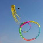 Giant 75ft Tube-Shaped Parafoil Octopus Kite