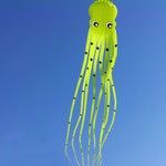 Light green 75ft Tube-Shaped Parafoil Octopus Kite