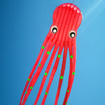Large 3D 75ft Tube-Shaped Parafoil Octopus Kite