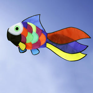 Rainbow Fish Windsock Spinner Spiral for Garden