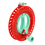 Red 7inch Lockable Kite Reel