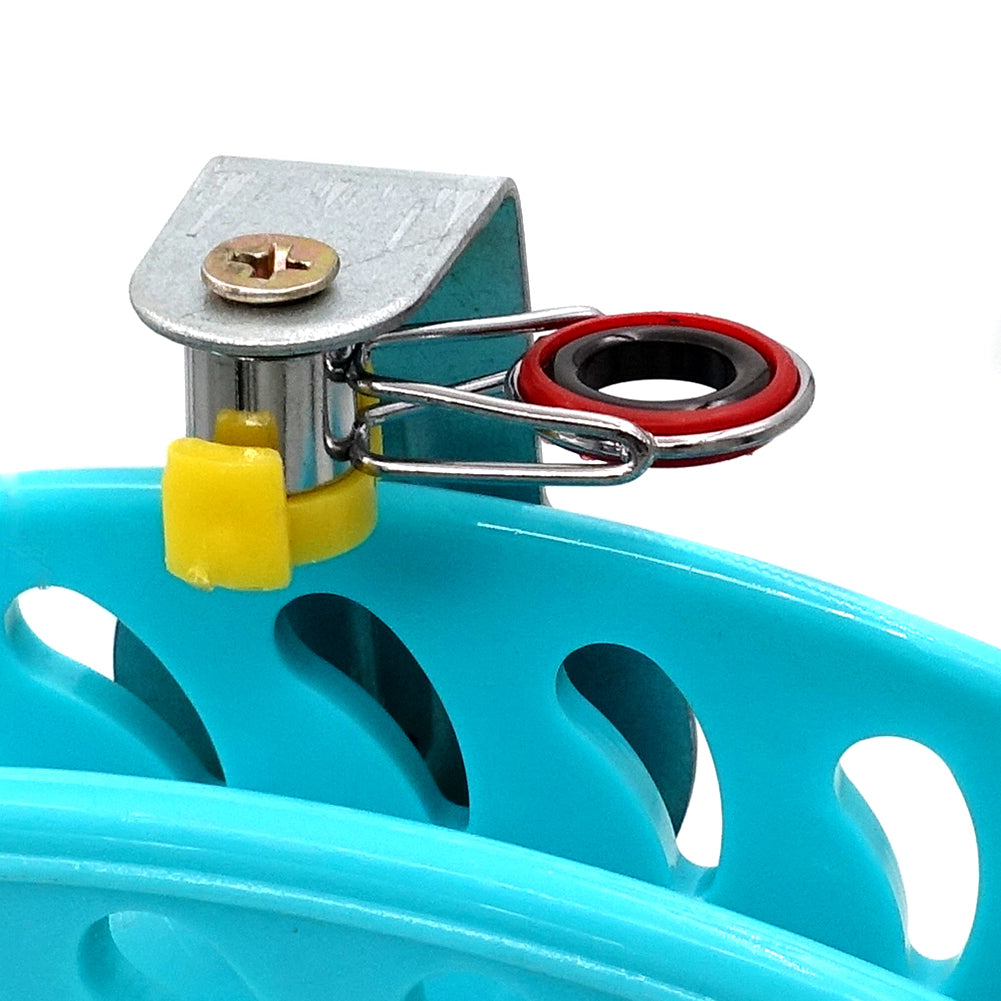 Line Guide of Blue Lockable Kite Reel Winder