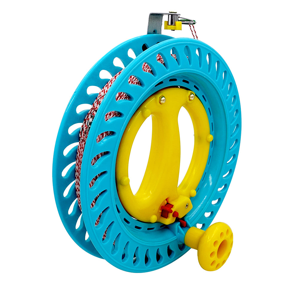 Lockable Kite Reel Winder With Dacron Line