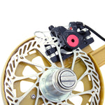 12.6inch Kite Winder Reel with Disc Brake Shoulder Strap 7 Rollers