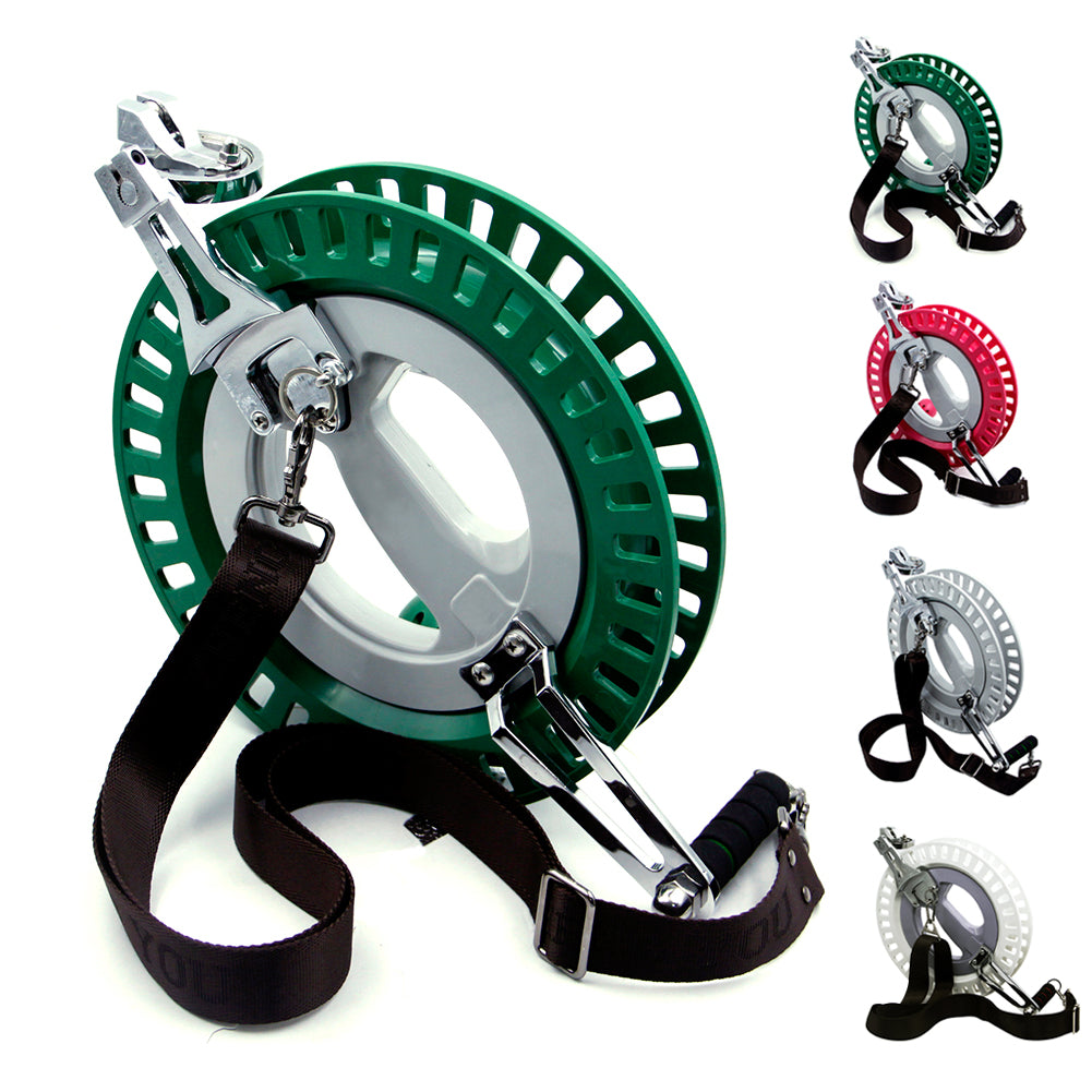 Four Kinds of 10.6 inch Large Kite Reel with Strap