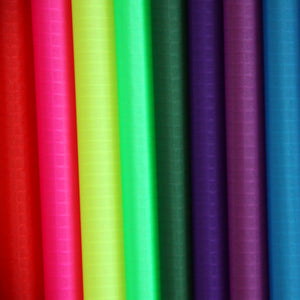 colorful 40D PU Coated Ripstop Nylon Fabric