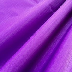 Purple 40D PU Coated Ripstop Nylon Fabric