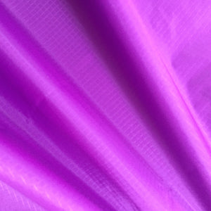 Lilac 50 Yards 40D PU Coated Ripstop Nylon Fabric