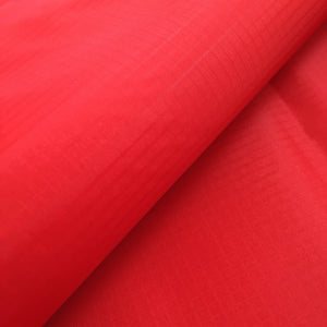 Red 50 Yards 40D PU Coated Ripstop Nylon Fabric