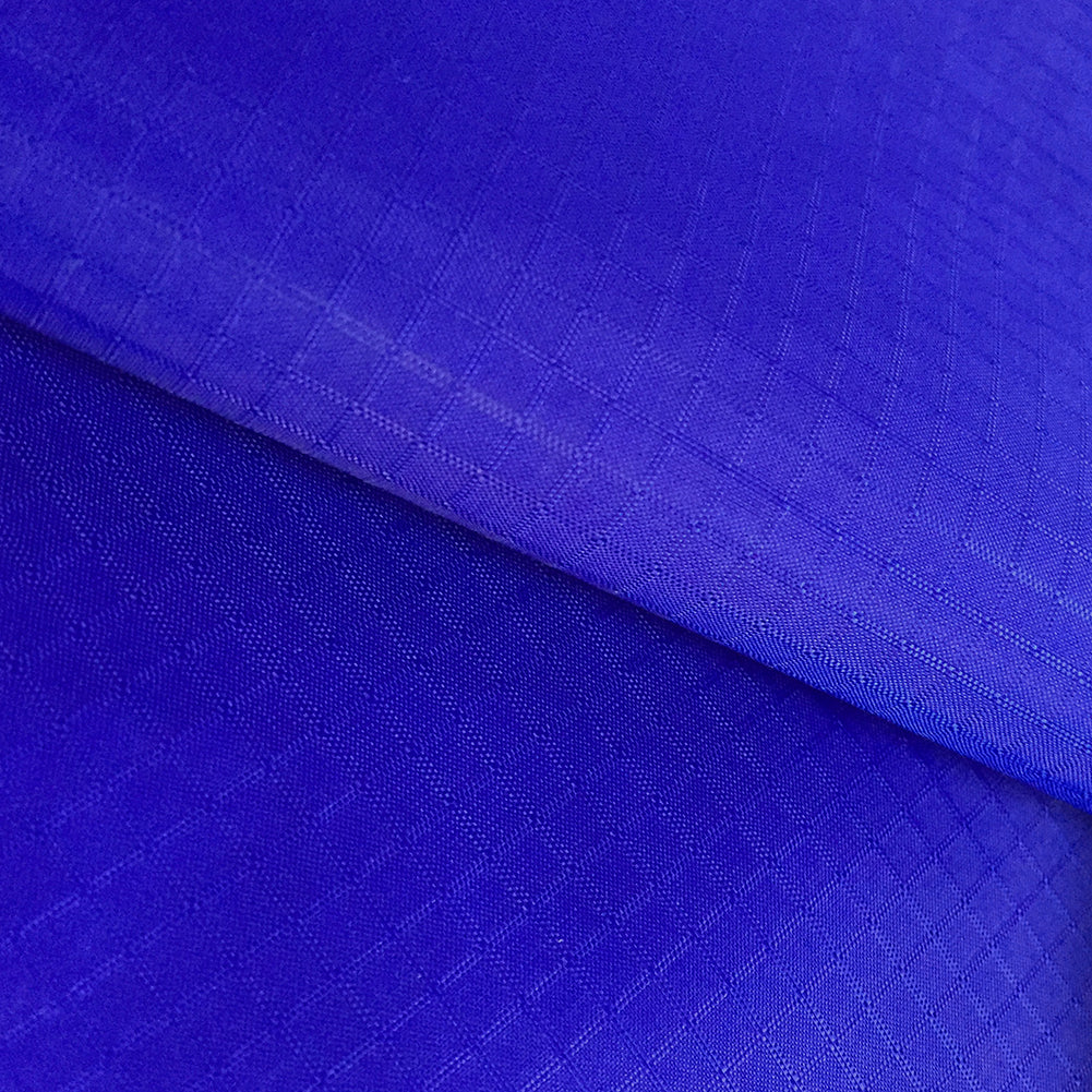 Royal Blue 50 Yards 40D PU Coated Ripstop Nylon Fabric