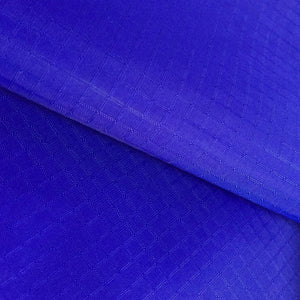 Royal Blue 40D PU Coated Ripstop Nylon Fabric