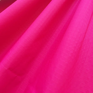 Hot Pink 50 Yards 40D PU Coated Ripstop Nylon Fabric