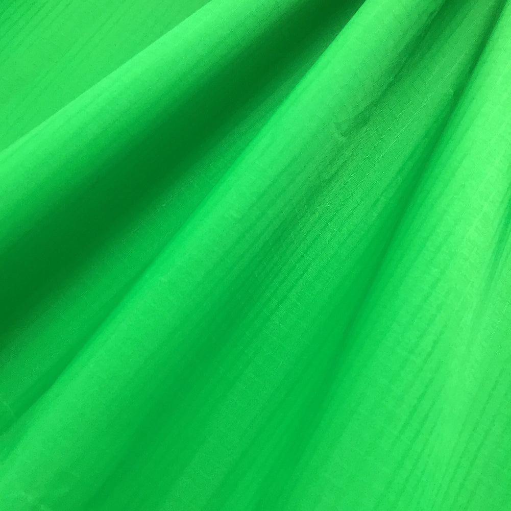 Green 40D PU Coated Ripstop Nylon Fabric
