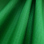 Dark Green 40D PU Coated Ripstop Nylon Fabric